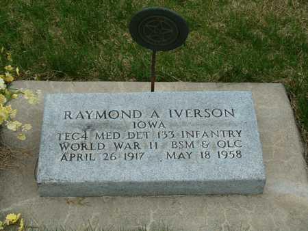 IVERSON, RAYMOND A. - Emmet County, Iowa   RAYMOND A. IVERSON
