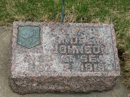 JOHNSON, ANDREW - Emmet County, Iowa | ANDREW JOHNSON