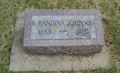 JOHNSON, B. RANDINA - Emmet County, Iowa | B. RANDINA JOHNSON