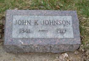 JOHNSON, JOHN K. - Emmet County, Iowa   JOHN K. JOHNSON