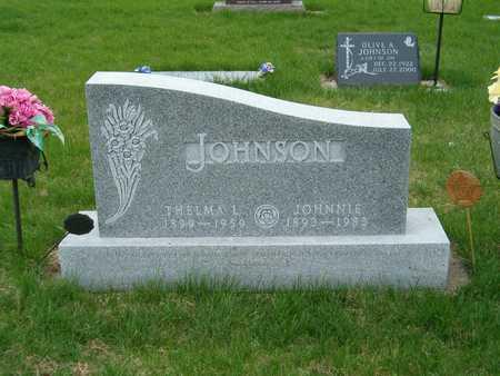 JOHNSON, THELMA - Emmet County, Iowa | THELMA JOHNSON