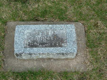 JOHNSON, PETER L. - Emmet County, Iowa   PETER L. JOHNSON