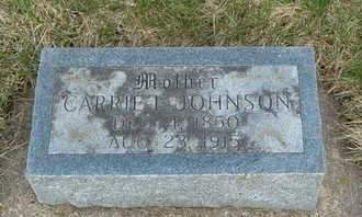 JOHNSON, CARRIE L. - Emmet County, Iowa | CARRIE L. JOHNSON