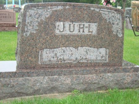 JUHL, CHRISTIAN PETER - Emmet County, Iowa | CHRISTIAN PETER JUHL