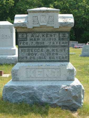 KENT, A. J. - Emmet County, Iowa   A. J. KENT