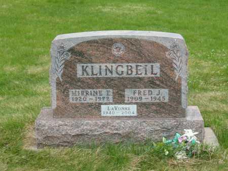 KLINGBEIL, LAVONNE - Emmet County, Iowa | LAVONNE KLINGBEIL