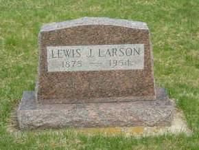 LARSON, LEWIS J. - Emmet County, Iowa   LEWIS J. LARSON