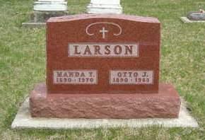LARSON, MANDA T. - Emmet County, Iowa | MANDA T. LARSON