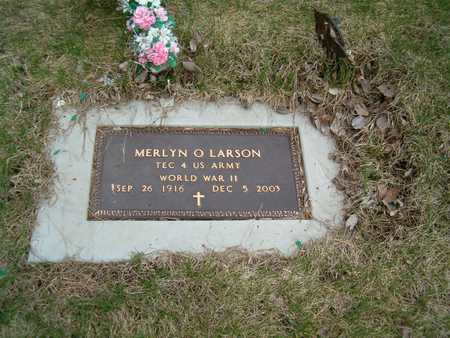 LARSON, MERLYN O. - Emmet County, Iowa | MERLYN O. LARSON