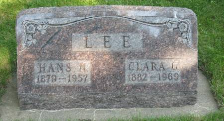 LEE, CLARA G. - Emmet County, Iowa | CLARA G. LEE