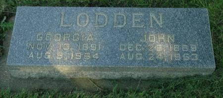 LODDEN, GEORGIA - Emmet County, Iowa | GEORGIA LODDEN