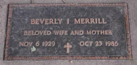 MERRILL, BEVERLY I. - Emmet County, Iowa | BEVERLY I. MERRILL