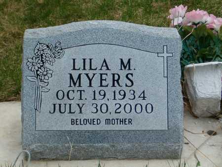 MYERS, LILA M. - Emmet County, Iowa | LILA M. MYERS