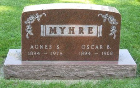 MYHRE, OSCAR B. - Emmet County, Iowa | OSCAR B. MYHRE