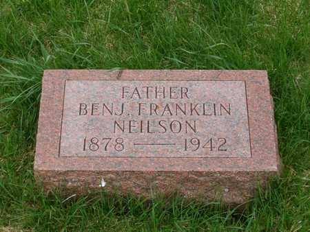 NEILSON, BENJ. FRANKLIN - Emmet County, Iowa   BENJ. FRANKLIN NEILSON