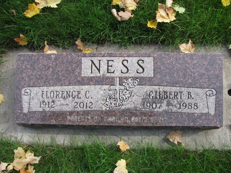 NESS, GILBERT B. - Emmet County, Iowa | GILBERT B. NESS