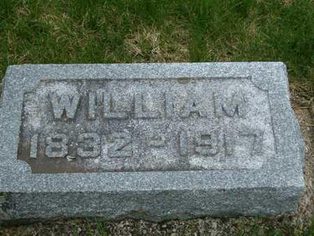 NIVISON, WILLIAM - Emmet County, Iowa   WILLIAM NIVISON