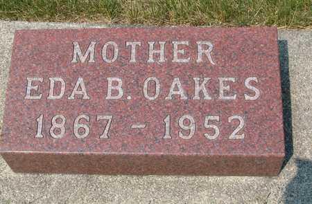 OAKES, EDA B. - Emmet County, Iowa | EDA B. OAKES