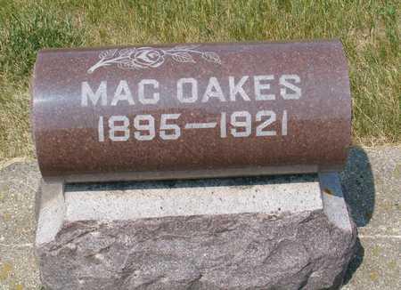 OAKES, MAC - Emmet County, Iowa | MAC OAKES