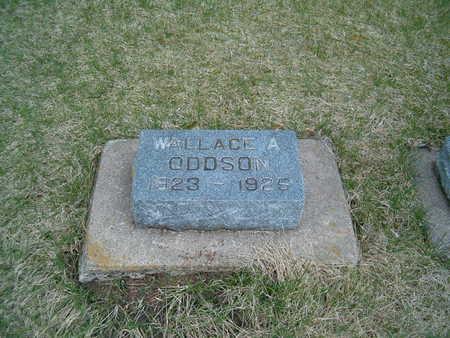 ODDSON, WALLACE A. - Emmet County, Iowa | WALLACE A. ODDSON