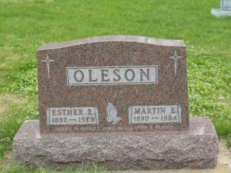 OLESON, MARTIN E. - Emmet County, Iowa | MARTIN E. OLESON