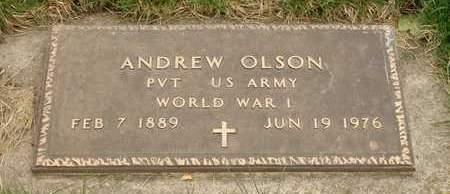 OLSON, ANDREW - Emmet County, Iowa   ANDREW OLSON