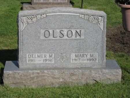 OLSON, DELMER M. - Emmet County, Iowa | DELMER M. OLSON