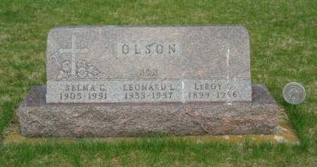 OLSON, SELMA C. - Emmet County, Iowa | SELMA C. OLSON