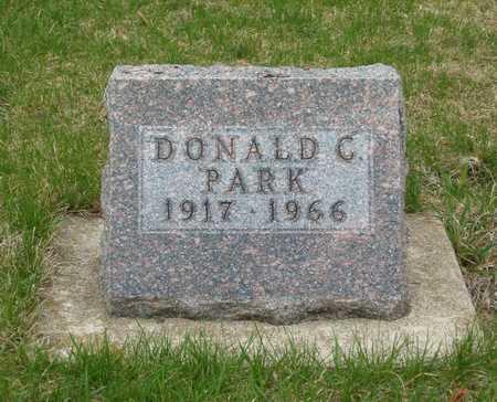 PARK, DONALD C. - Emmet County, Iowa   DONALD C. PARK