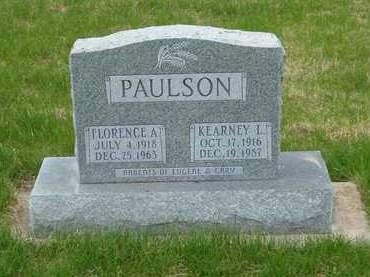 PAULSON, FLORENCE - Emmet County, Iowa | FLORENCE PAULSON
