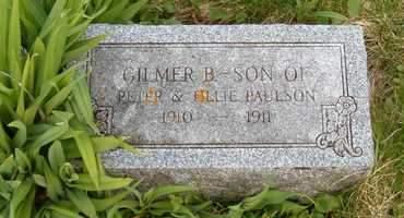 PAULSON, GILMER B. - Emmet County, Iowa   GILMER B. PAULSON