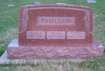 PAULSON, PALMER - Emmet County, Iowa | PALMER PAULSON