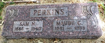 PERKINS, MAUDE C. - Emmet County, Iowa | MAUDE C. PERKINS
