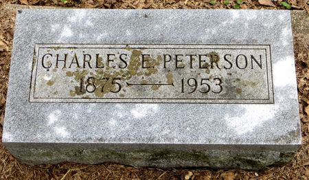 PETERSON, CHARLES E. - Emmet County, Iowa | CHARLES E. PETERSON