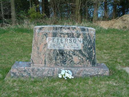 PETERSON, LEWIS P. - Emmet County, Iowa | LEWIS P. PETERSON