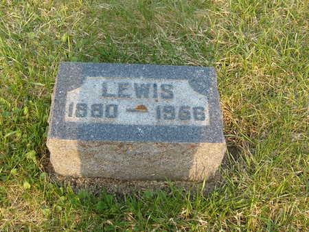 PETERSON, LEWIS - Emmet County, Iowa   LEWIS PETERSON