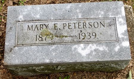 PETERSON, MARY E. - Emmet County, Iowa | MARY E. PETERSON
