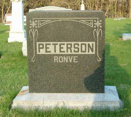 PETERSON, RONVE - Emmet County, Iowa   RONVE PETERSON