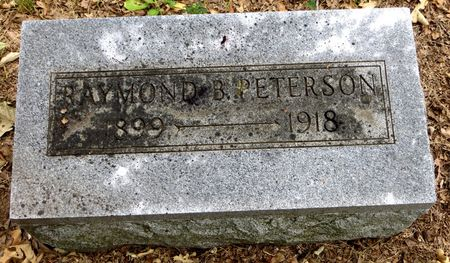PETERSON, RAYMOND B. - Emmet County, Iowa | RAYMOND B. PETERSON