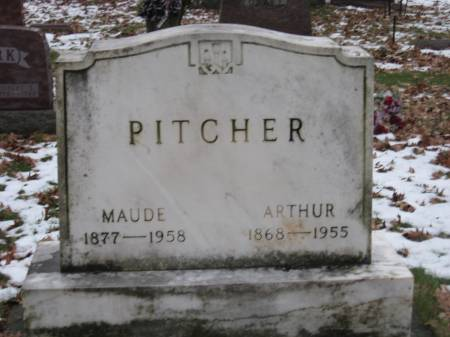 PITCHER, MAUDE - Emmet County, Iowa | MAUDE PITCHER