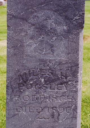 PUGSLEY, MILES H. - Emmet County, Iowa | MILES H. PUGSLEY