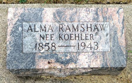 RAMSHAW, ALMA - Emmet County, Iowa | ALMA RAMSHAW