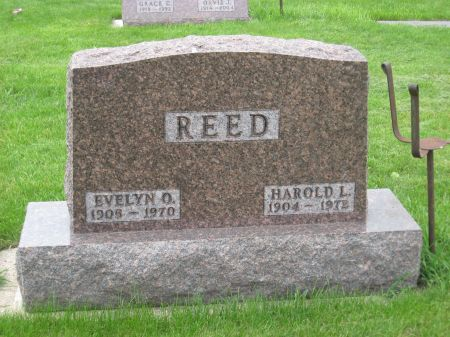 REED, EVELYN O. - Emmet County, Iowa | EVELYN O. REED