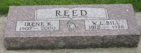 REED, IRENE K. - Emmet County, Iowa | IRENE K. REED