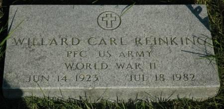 REINKING, WILLARD CARL - Emmet County, Iowa | WILLARD CARL REINKING