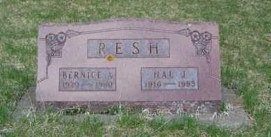 RESH, BERNICE - Emmet County, Iowa | BERNICE RESH