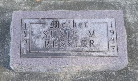 RESSLER, SUSIE MATILDA - Emmet County, Iowa | SUSIE MATILDA RESSLER