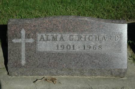 RICHARD, ALMA G. - Emmet County, Iowa | ALMA G. RICHARD