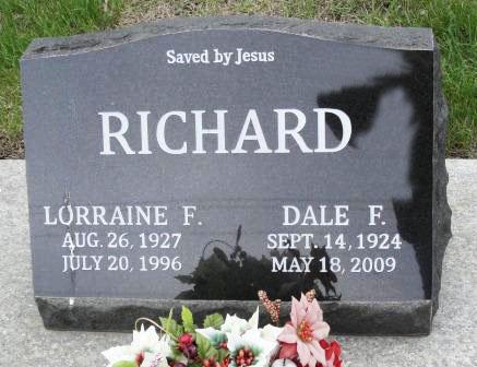 RICHARD, LORRAINE F. - Emmet County, Iowa   LORRAINE F. RICHARD