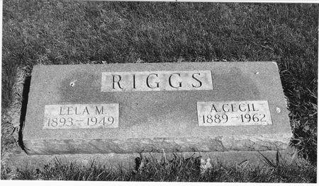 RIGGS, ALBERT CECIL - Emmet County, Iowa | ALBERT CECIL RIGGS